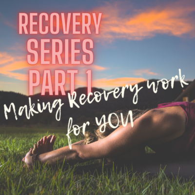 how to recover during training