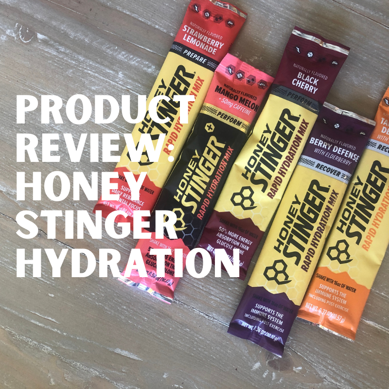 Product Review: Honey Stinger hydration